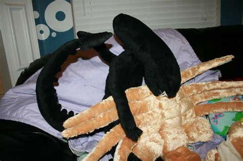 plush alien facehugger pillow pet