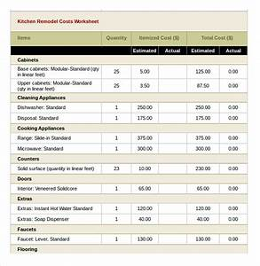 10 Excel Budget Templates Free Sample Example Format