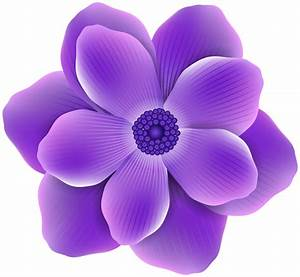 Purple Flower PNG Clip Art Image | Gallery Yopriceville ...