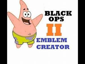 PATRICK STAR - Black Ops 2 Emblem Creator - YouTube