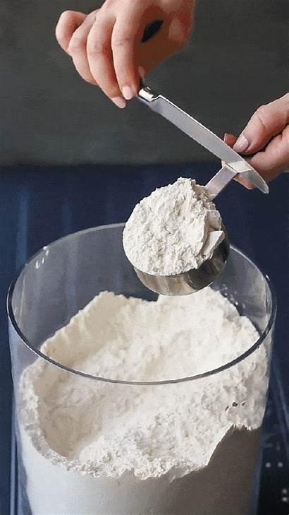 Measure Ingredients Baking Flour Dry Cup Liquid