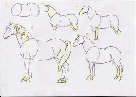 draw  horse  cool funny
