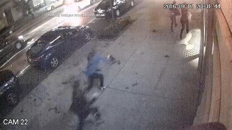 Surveillance Video Shows Moment Of New York City Explosion