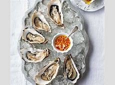 Oysters with apple & horseradish dressing recipe BBC Good Food