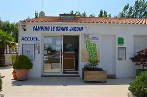 reception camping vendee camping le grand jardin With camping en france avec piscine couverte 15 camping puy de dame location mobil homes emplacements