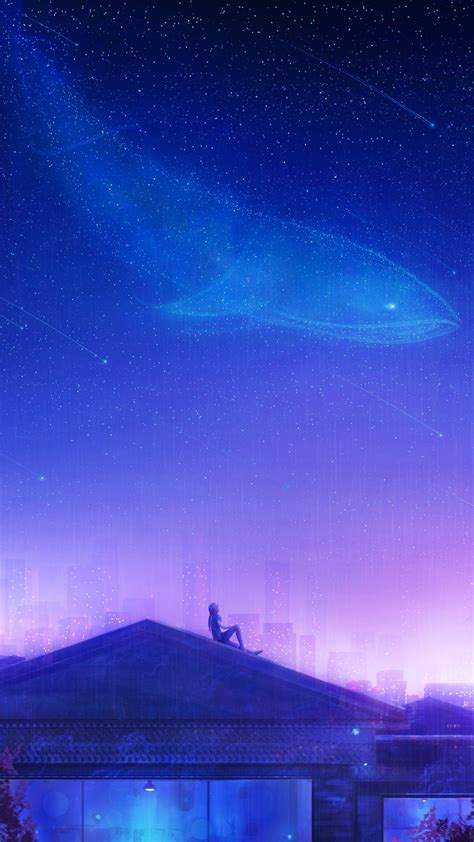 counting stars girly puple dream sky  wallpapers hd
