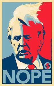 "The Shepard Fairey Obama ""Hope"" inspired Donald Trump ..."