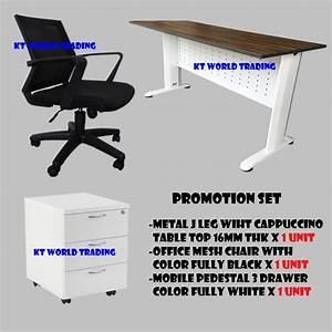 office furniture office chair office table writing table With d home furniture malaysia
