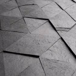 slate like tiles made from recycled scrap paper laminate design