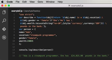 template literals es6 template literals techniques and tools sitepoint