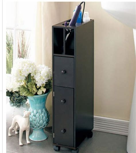 Slim Bathroom Drawers by Bathroom Storage Cabinet Slim 3 Drawer Shelf