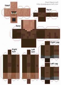 Papercraft mutant villager | Minecraft | Pinterest | D and ...