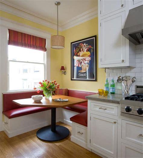 Kitchen Corner Booth