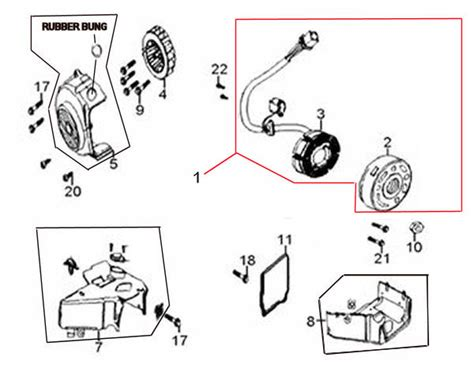Peace Sports Scooter Wiring Diagram Parts