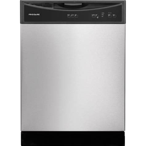 lowes dishwashers shop frigidaire 60 decibel built in dishwasher stainless