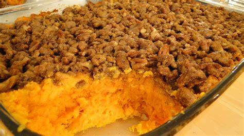 Sweet Potato Casserole…  Good Grindz
