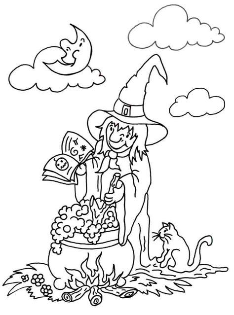 ausmalbilder die kleine hexe  tolle ideen