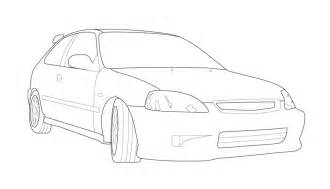 how to draw cars how to draw a honda civic apps directories