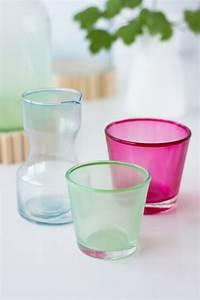Glas Milchig Machen : gastblogger diy glas mit lebensmittelfarbe einf rben we ~ Kayakingforconservation.com Haus und Dekorationen