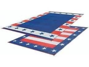 Rv Reversible Patio Mats by Rv Patio Mat American Flag Awning Mat Usa Camping Mat Trailer Outdoor Rug 8x20 Ebay