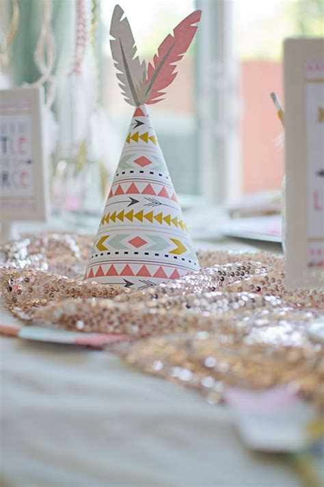 boho tribal baby shower pictures ideas