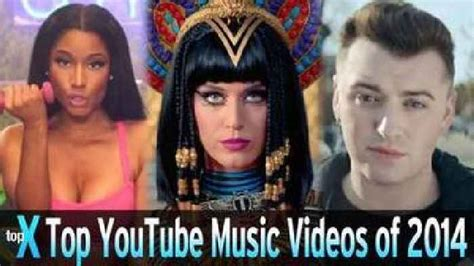 Top 10 Youtube Music Videos Of 2014  Topx  One News Page
