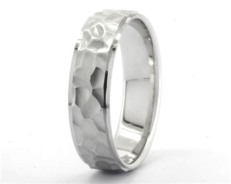 hammer effect gents wedding ring gwr022 ireland commins