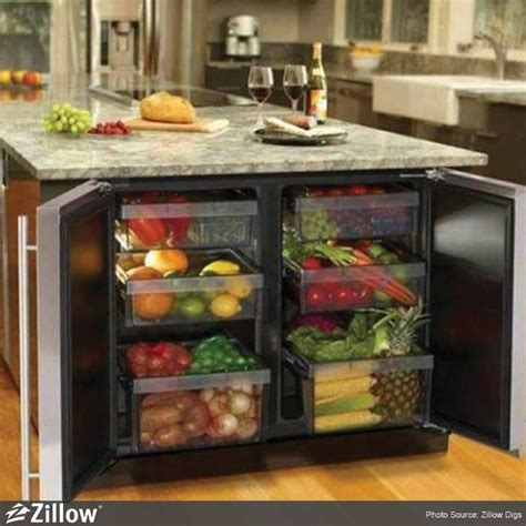 Fruit and Vegetable refrigerator. I need this!!! theres