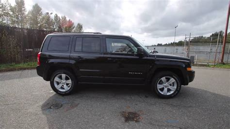 2017 Jeep Patriot Sport Black Clearcoat Hd130847