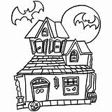 Haunted Coloring Pages Mansion Cartoon Drawing Halloween Printables Colouring Doll Printable Simple Fuller Clipart Clipartmag Getcolorings Awesome Getdrawings Comments Print sketch template