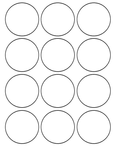 printable circle templates blank circles printable pages