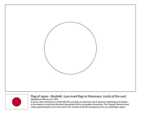 Japon Bayrağı Boyama Resimlere Göre Ara Red
