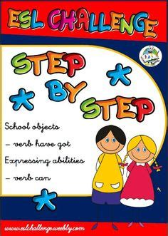 step  step  english images esl resources