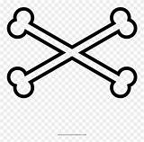 Crossbones Coloring Skull Roblox Pirate Pinpng Banner Evil sketch template