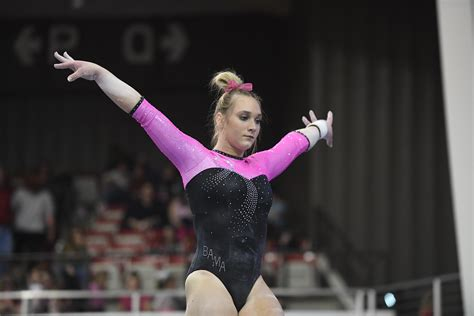 alabama gymnastics tripped   kentucky news