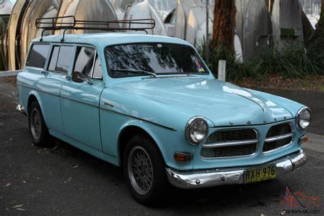 volvo  amazon wagon  original light blue vw