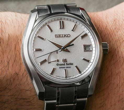 grand seiko gs  beat spring drive watches