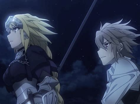 fate series upcoming anime fate apocrypha tv anime reveals new pv and key visual