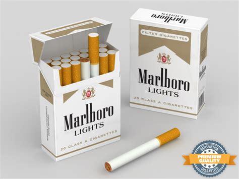 how much nicotine is in a marlboro light 3d model marlboro lights cigarette box