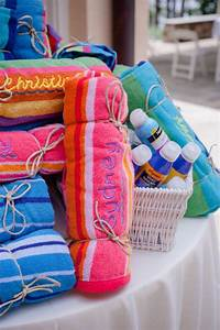 beach towel wedding favors great for a beach wedding With wedding favor beach towels