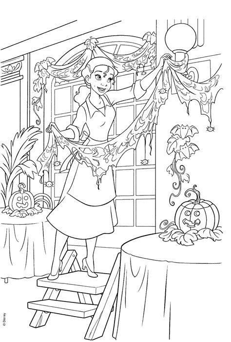 princess   frog coloring pages