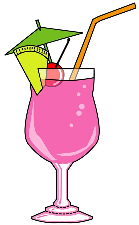 Cocktail Clipart A Colorful Cocktail Cocktails Clipart Set From