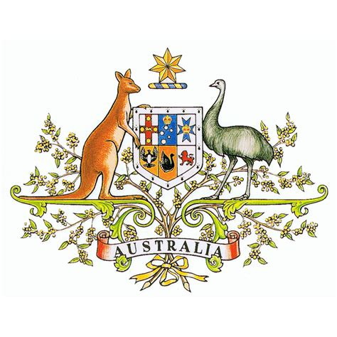 the coats of arms of australian states and territories