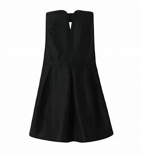 robe courte boule bustier see u soon en noir pour femme With robe see you soon