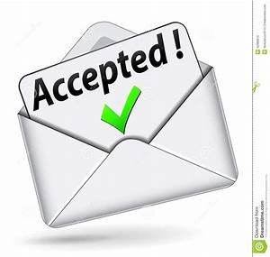Vector Accepted Envelope Icon Stock Illustration  Illustration of mail, postal 42389970