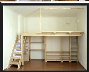 Lit Mezzanine Dressing : les 25 meilleures id es de la cat gorie lits mezzanine sur ~ Premium-room.com Idées de Décoration