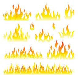 Free Fire Flames Clip Art Transparent Background