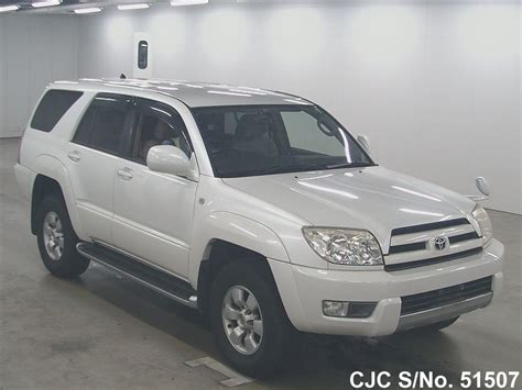 2003 toyota hilux surf 4runner pearl for sale stock no 51507 used cars exporter