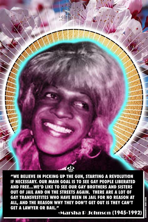 RIP Marsha P. Johnson : BlackSocialists