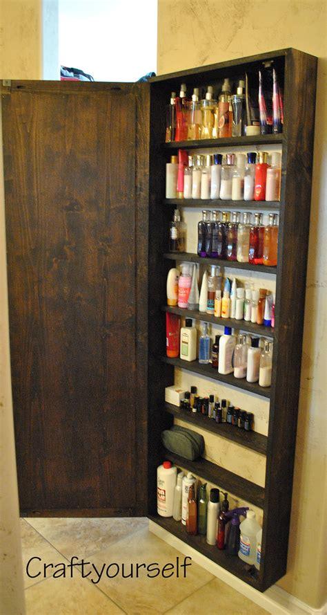 Diy Bathroom Cabinet With Mirror Craft